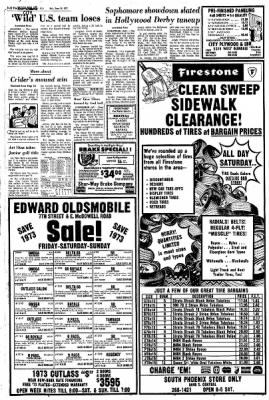 Arizona Republic from Phoenix, Arizona on June 30, 1973 · Page 146