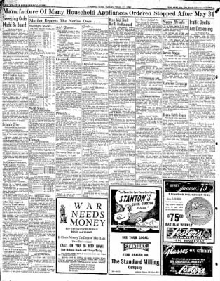 Lubbock Morning Avalanche from Lubbock, Texas on March 31, 1942 · Page 4