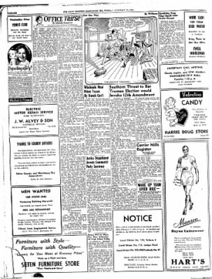 The Daily Register from Harrisburg, Illinois on February 10, 1948 · Page 6