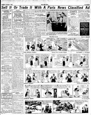 The Paris News from Paris, Texas on August 7, 1934 · Page 7