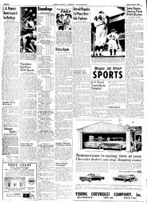 Hope Star from Hope, Arkansas on July 21, 1961 · Page 6