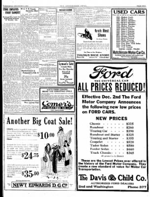 The Hutchinson News from Hutchinson, Kansas on December 3, 1924 · Page 9