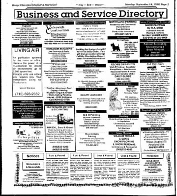 Ironwood Daily Globe from Ironwood, Michigan on September 14, 1998 · Page 8