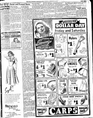 The Daily Register from Harrisburg, Illinois on February 12, 1948 · Page 3