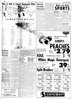 Hope Star from Hope, Arkansas on July 24, 1961 · Page 6