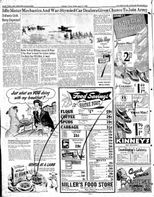 Lubbock Morning Avalanche from Lubbock, Texas on April 3, 1942 · Page 1