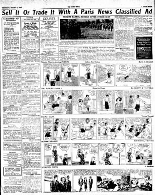 The Paris News from Paris, Texas on August 9, 1934 · Page 7