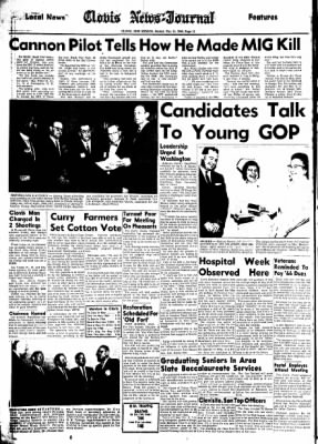 Clovis News-Journal from Clovis, New Mexico on May 15, 1966 · Page 12