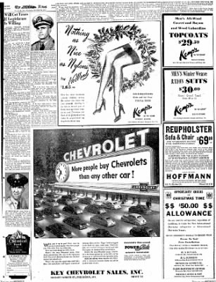 The News from Frederick, Maryland on December 6, 1951 · Page 22