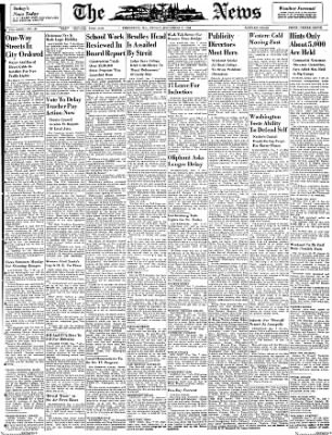 The News from Frederick, Maryland on December 7, 1951 · Page 1