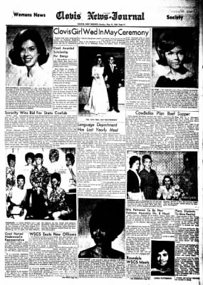 Clovis News-Journal from Clovis, New Mexico on May 15, 1966 · Page 17