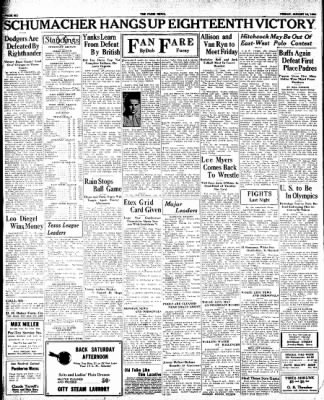 The Paris News from Paris, Texas on August 10, 1934 · Page 6