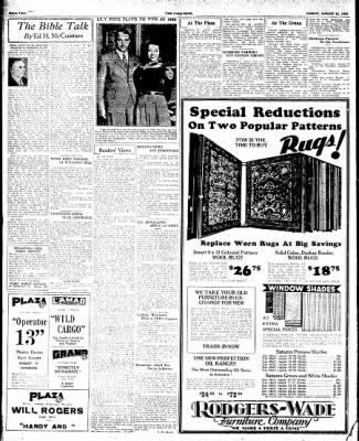 The Paris News from Paris, Texas on August 12, 1934 · Page 2