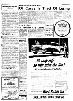 The Baytown Sun from Baytown, Texas on July 10, 1956 · Page 7