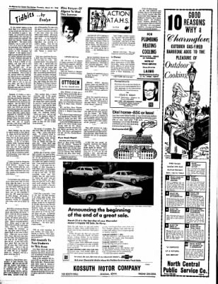 The Algona Upper Des Moines from Algona, Iowa on March 21, 1968 · Page 16