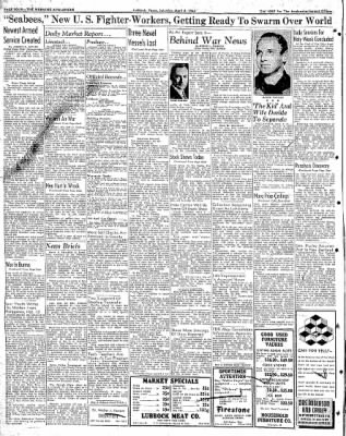 Lubbock Morning Avalanche from Lubbock, Texas on April 4, 1942 · Page 2