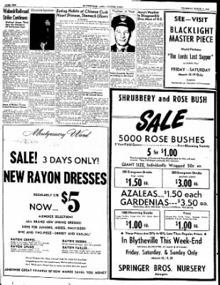 The Courier News from Blytheville, Arkansas on March 17, 1949 · Page 2
