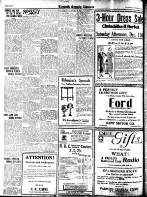 Kossuth County Advance from Algona, Iowa on December 11, 1930 · Page 8