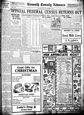 Kossuth County Advance from Algona, Iowa on December 11, 1930 · Page 9