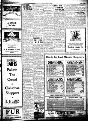 Kossuth County Advance from Algona, Iowa on December 18, 1930 · Page 3