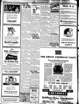 Kossuth County Advance from Algona, Iowa on December 18, 1930 · Page 6