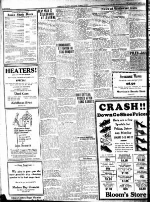 Kossuth County Advance from Algona, Iowa on January 8, 1931 · Page 4
