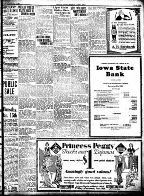 Kossuth County Advance from Algona, Iowa on January 8, 1931 · Page 5