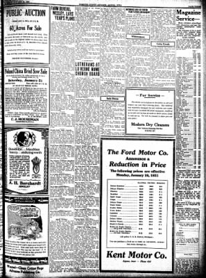 Kossuth County Advance from Algona, Iowa on January 22, 1931 · Page 3