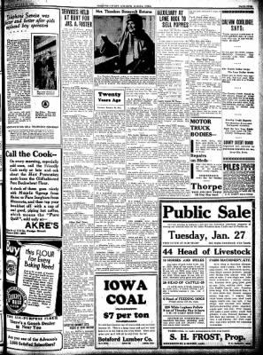 Kossuth County Advance from Algona, Iowa on January 22, 1931 · Page 5