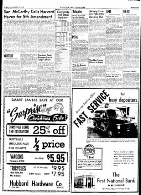 The Courier News from Blytheville, Arkansas on December 15, 1953 · Page 9