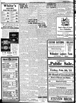 Kossuth County Advance from Algona, Iowa on February 12, 1931 · Page 4