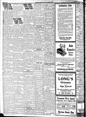 Kossuth County Advance from Algona, Iowa on February 26, 1931 · Page 8