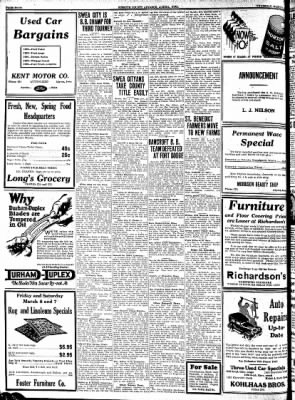 Kossuth County Advance from Algona, Iowa on March 5, 1931 · Page 4