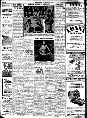 Kossuth County Advance from Algona, Iowa on March 12, 1931 · Page 12