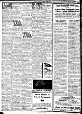 Kossuth County Advance from Algona, Iowa on March 19, 1931 · Page 4