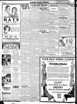 Kossuth County Advance from Algona, Iowa on March 26, 1931 · Page 10