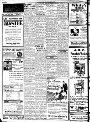 Kossuth County Advance from Algona, Iowa on April 2, 1931 · Page 4