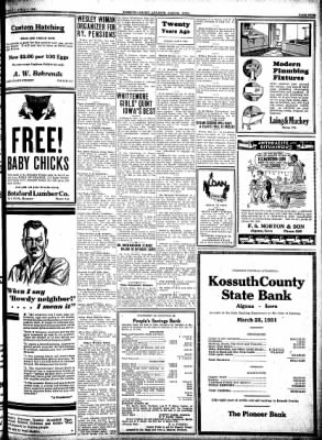 Kossuth County Advance from Algona, Iowa on April 2, 1931 · Page 5