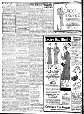 Kossuth County Advance from Algona, Iowa on April 2, 1931 · Page 6