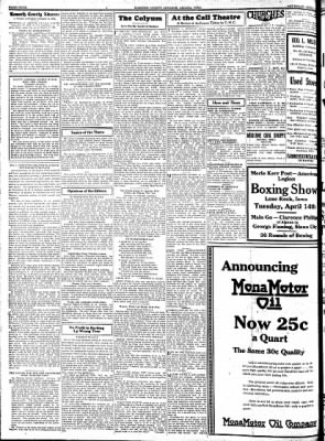Kossuth County Advance from Algona, Iowa on April 9, 1931 · Page 4