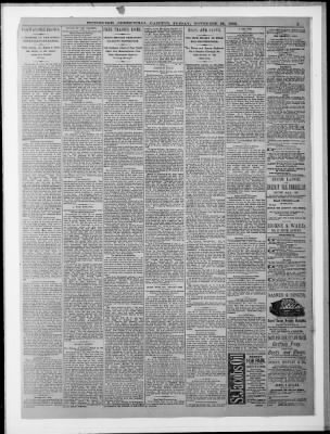 Pittsburgh Post-Gazette from Pittsburgh, Pennsylvania on November 30, 1883 · Page 5