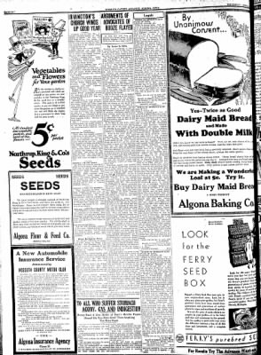 Kossuth County Advance from Algona, Iowa on April 16, 1931 · Page 6
