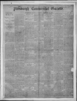 Pittsburgh Post-Gazette from Pittsburgh, Pennsylvania on November 23