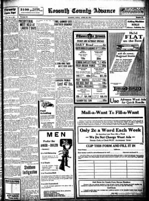 Kossuth County Advance from Algona, Iowa on April 30, 1931 · Page 7