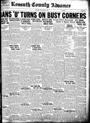 Kossuth County Advance from Algona, Iowa on May 7, 1931 · Page 1