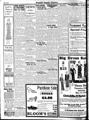 Kossuth County Advance from Algona, Iowa on May 14, 1931 · Page 8