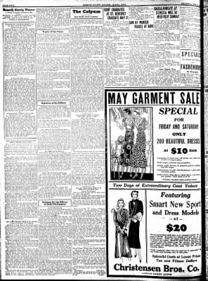 Kossuth County Advance from Algona, Iowa on May 21, 1931 · Page 4