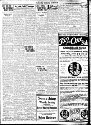 Kossuth County Advance from Algona, Iowa on June 4, 1931 · Page 8