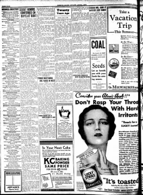 Kossuth County Advance from Algona, Iowa on June 4, 1931 · Page 12