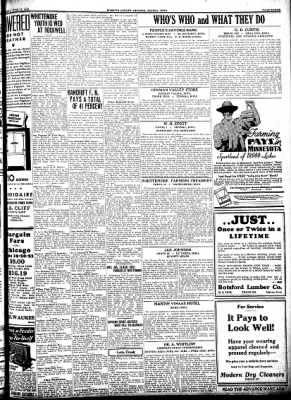 Kossuth County Advance from Algona, Iowa on June 18, 1931 · Page 11